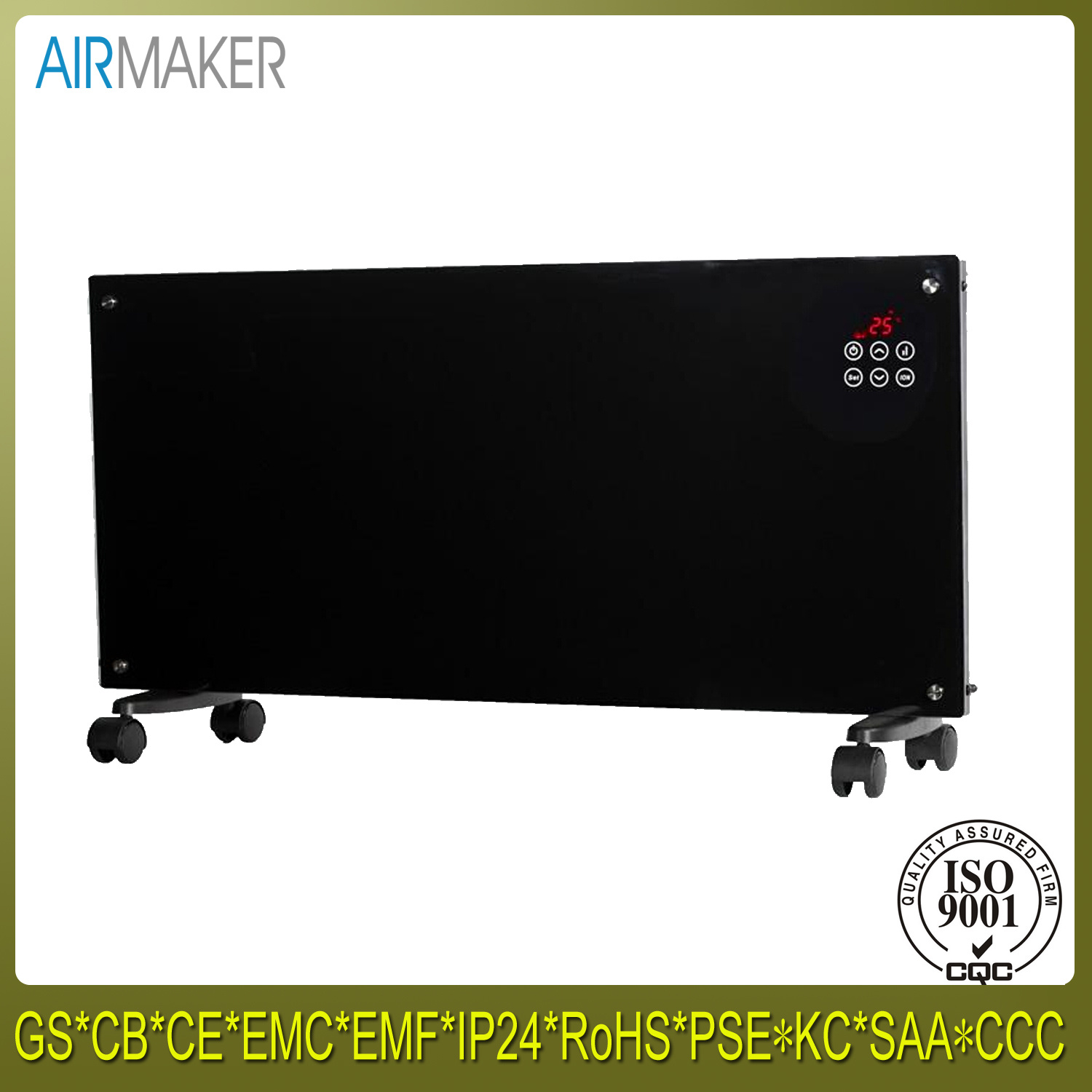 Latest Fashion Wall Mount Electric Panel Convector Heater