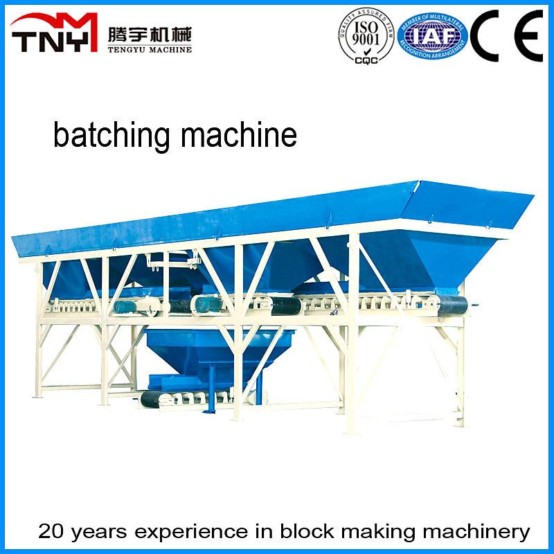 Pl1200 Batching Machine for Block Making Machine