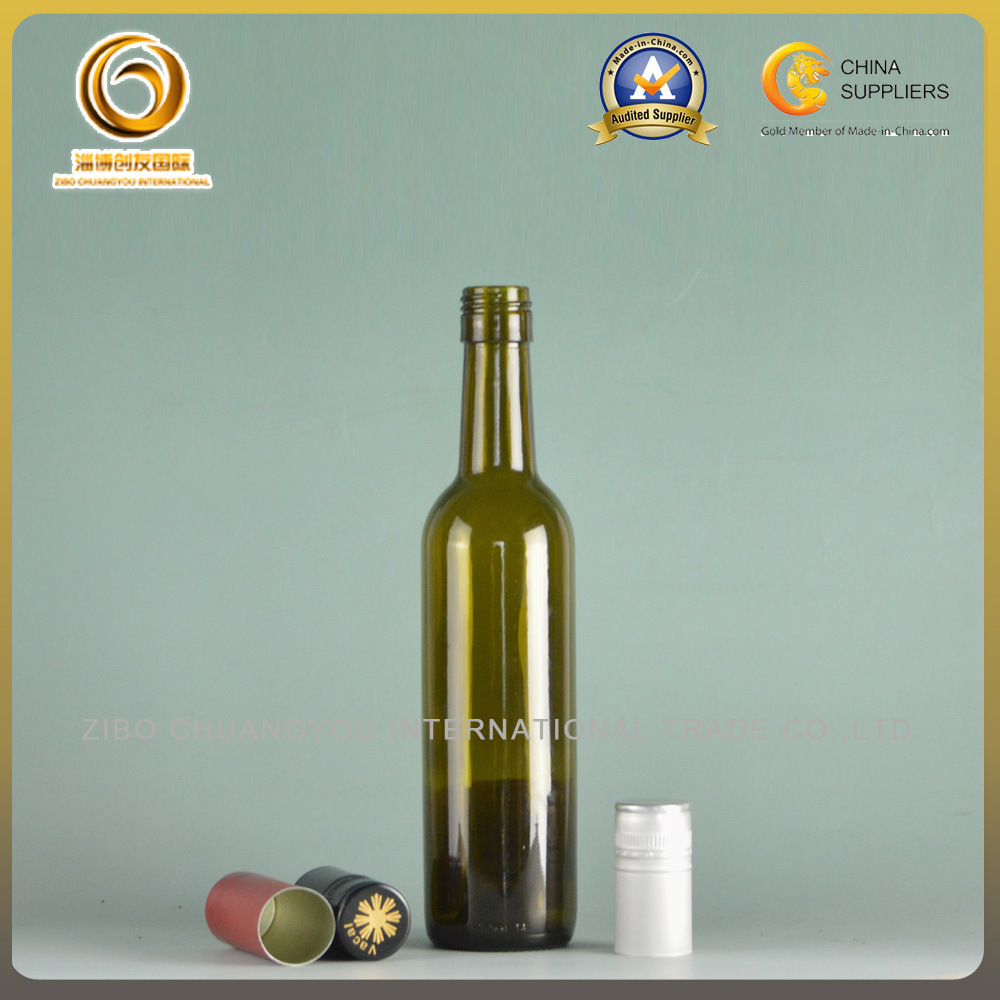 Empty 375ml Small Glass Red Wine Bottles (023)