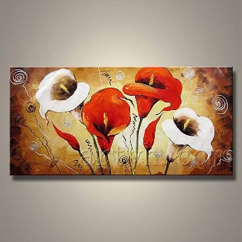 Fleur de tulipe de peinture l 39 huile de fleur de qualit fleur de tulipe de peinture l 39 huile for Peinture de qualite