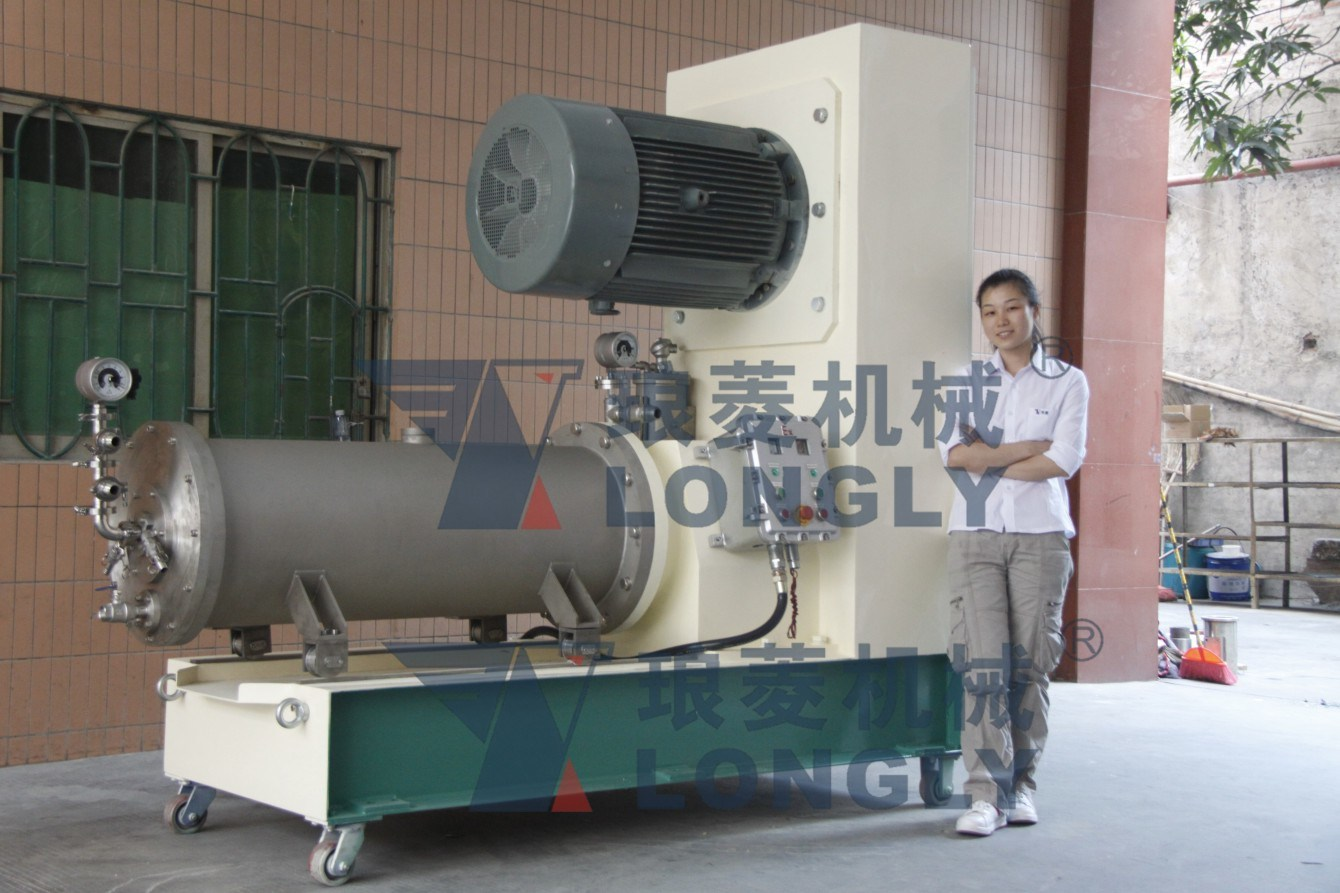 LSM -150B Disk Type Horizontal Bead Mill