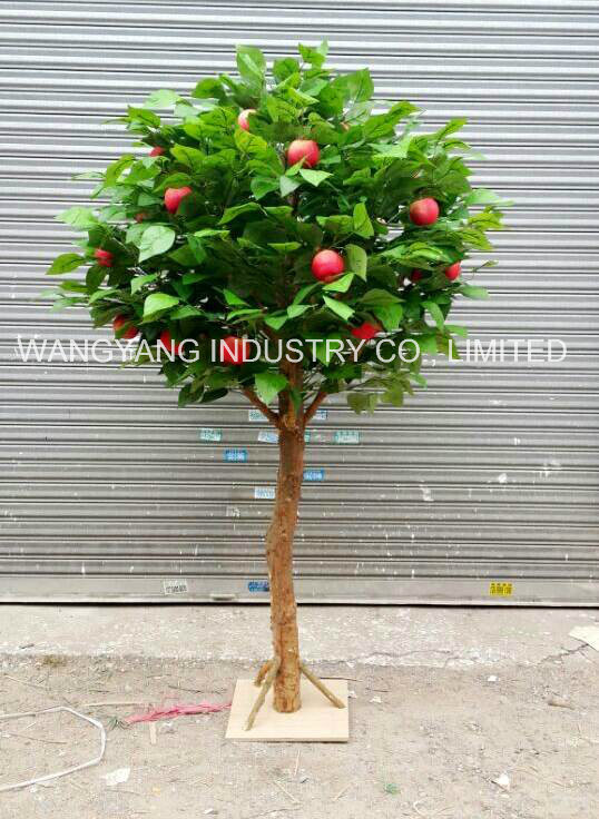 Artificial Fake Synthetic Apple Tree
