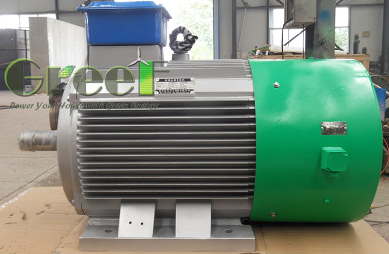 100kw 50rpm Three Phase Pmg with BV