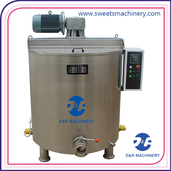 Stainless Steel Chocolate Mass Tank Chocolate Holding Tank