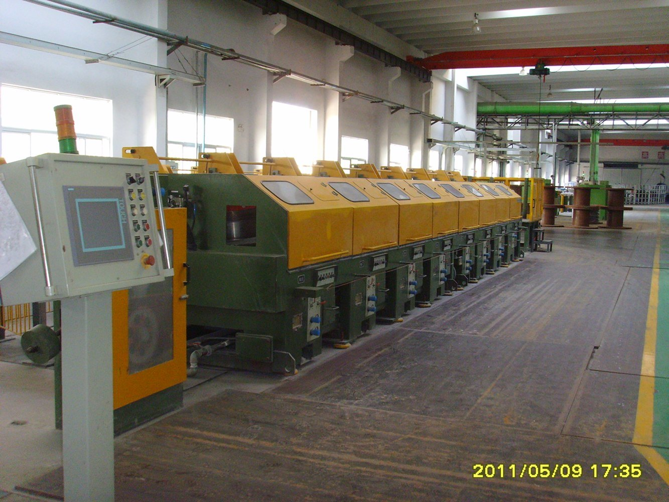 Straight Wire Drawing Machine with High Efficient