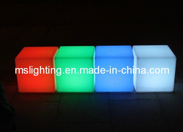 China 50cm LED Cube Light / LED Furniture   China Lighted Table Cube, Led  Furniture
