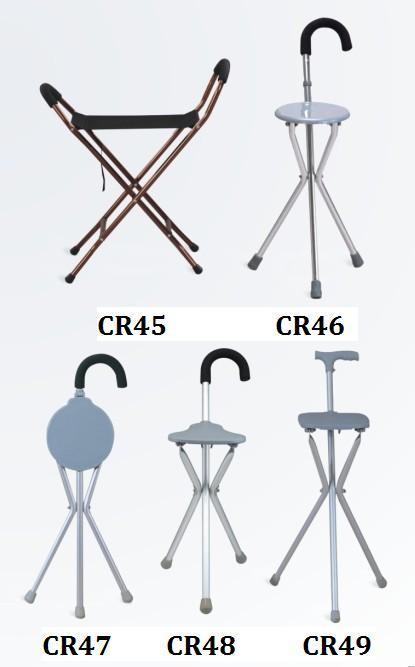 Disabled Walking Aluminum Elbow Crutch Stick Cane SC-CR45-49