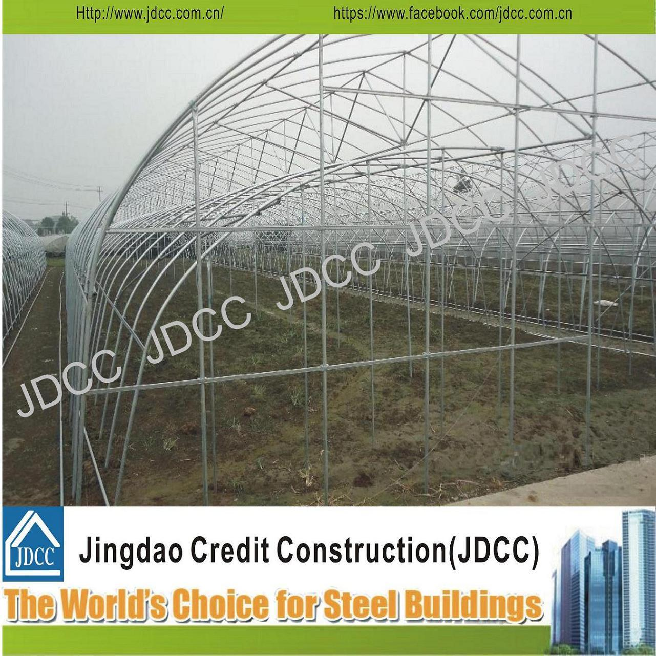 Galvanized Light Steel Structure Greenhouse