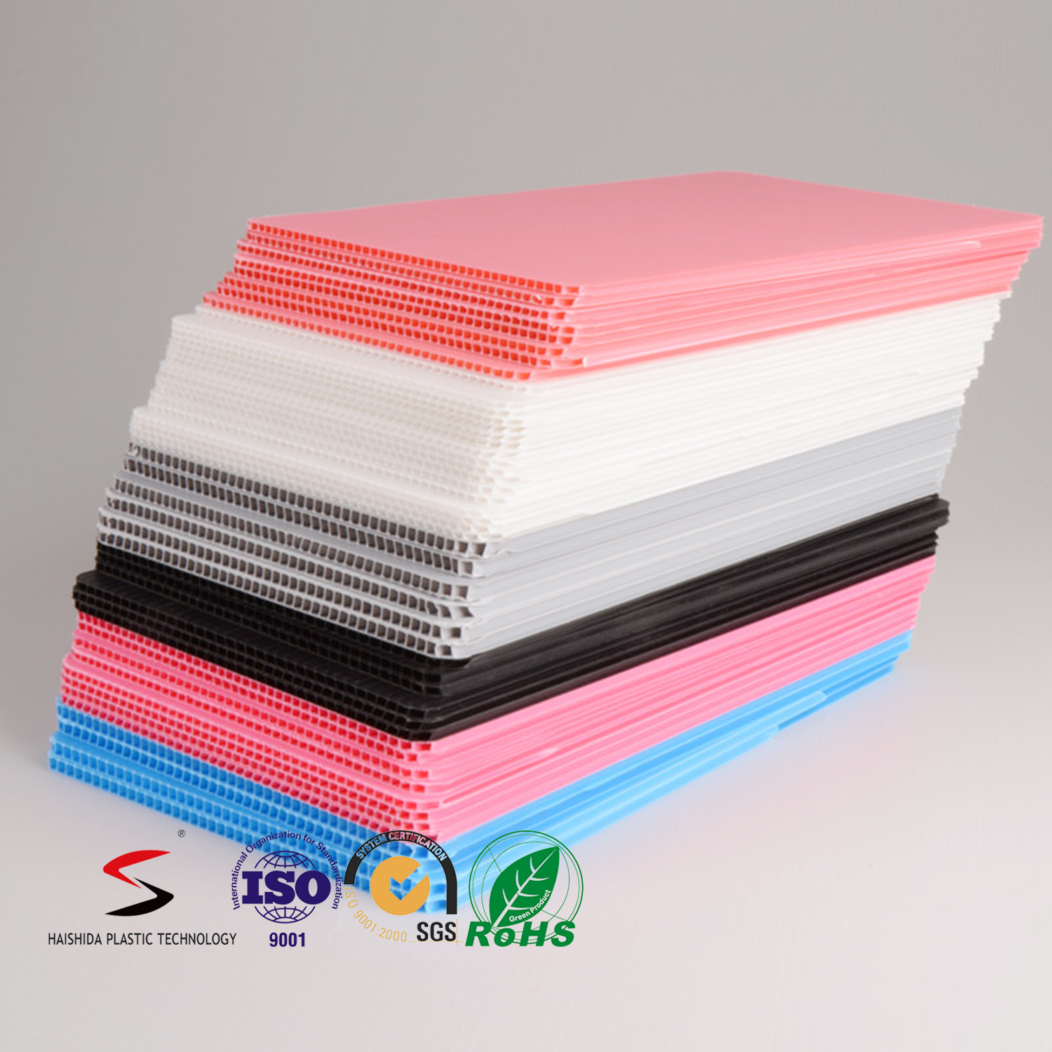 High Quality Board PP Hollow Sheet Plastic Corrugated Sheet