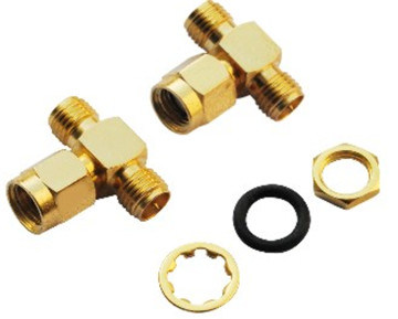 Factory Price SMA Connector Male to Double Female Adapter Connector