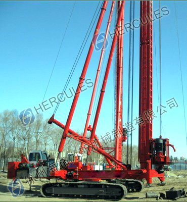 Tracked Long Helix Drilling Rig Supplier in China