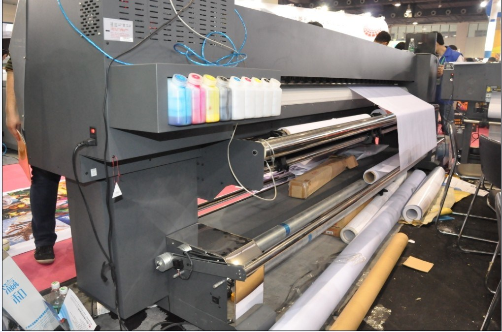 3.2m Large Format Printer with 2 PCS of Dx5 Print Head (YH-3202S)