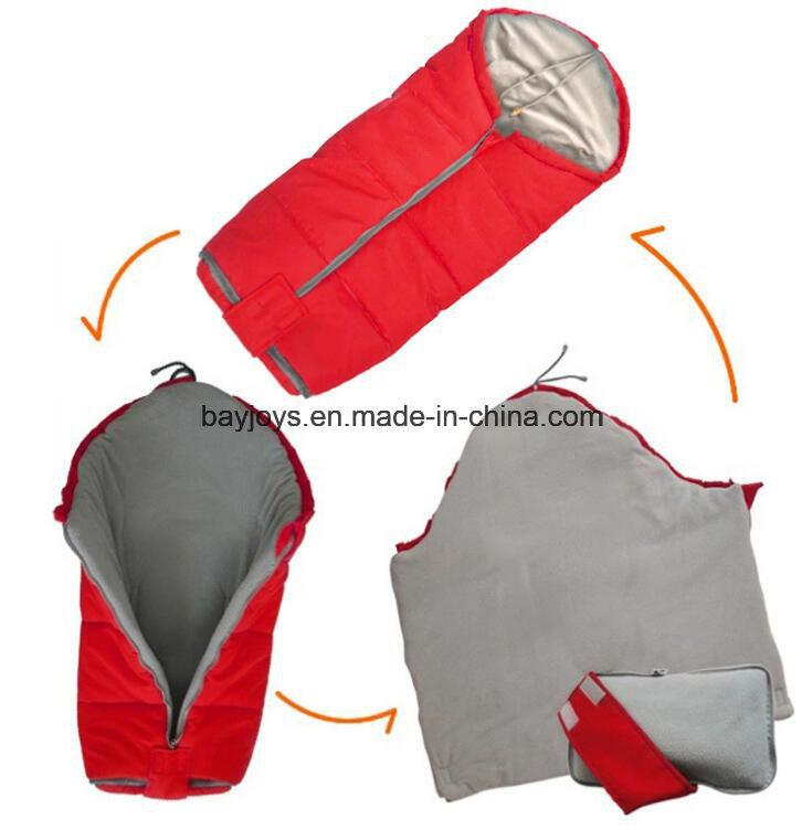 100% Cotton Fabric Infant Stroller Footmuff