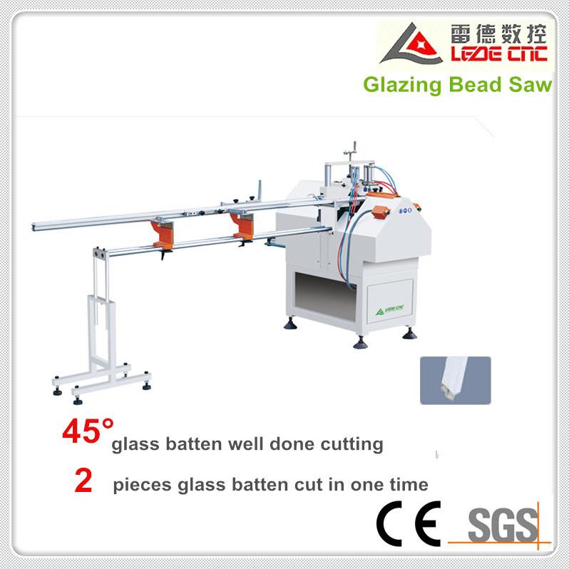 UPVC Machinery Glazing Bead Saw Cutting Window Machine with 1 Time 2PCS Cutting