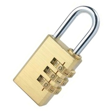 3/4 Digits Brass Combination Padlock (1601 1602)