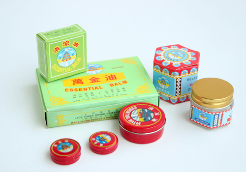 Essential Balm - Chinese Tiger Balm (Jade Tower brand)