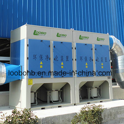 Big Flow Industrial Cyclone Dust Collector/Filter Cartridge Welding Fume Collector for Fume Extraction and Air Ventilation
