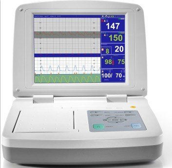 Diagnosis Equipment Fetal Monitor with 12 Inch or 10.4 Inch