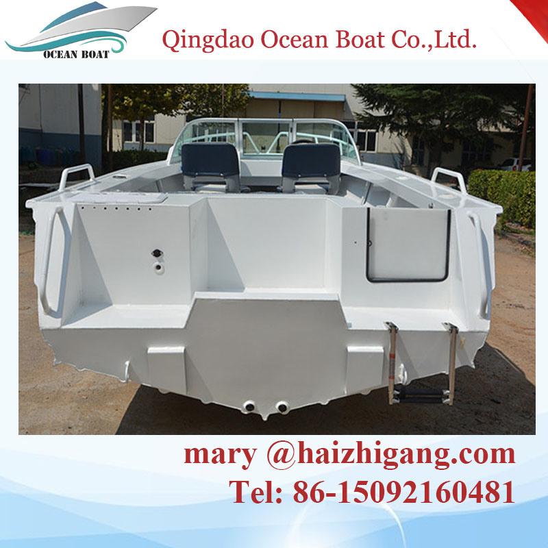 Marine Grade 14FT 4.2m Runabouts Aluminum Hull Fishing Boat