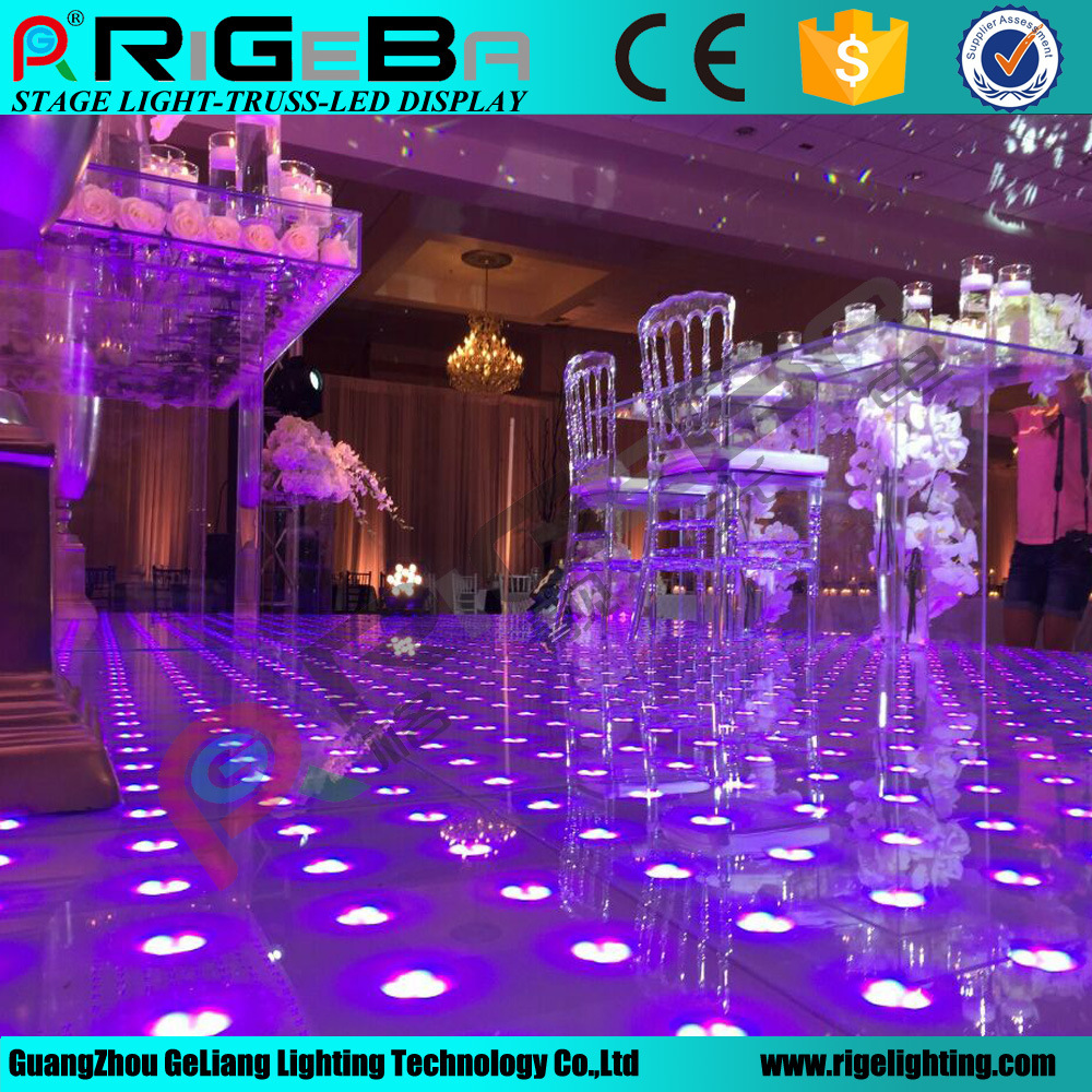 LED Stage Disco Wedding Digital Dance Floor Light
