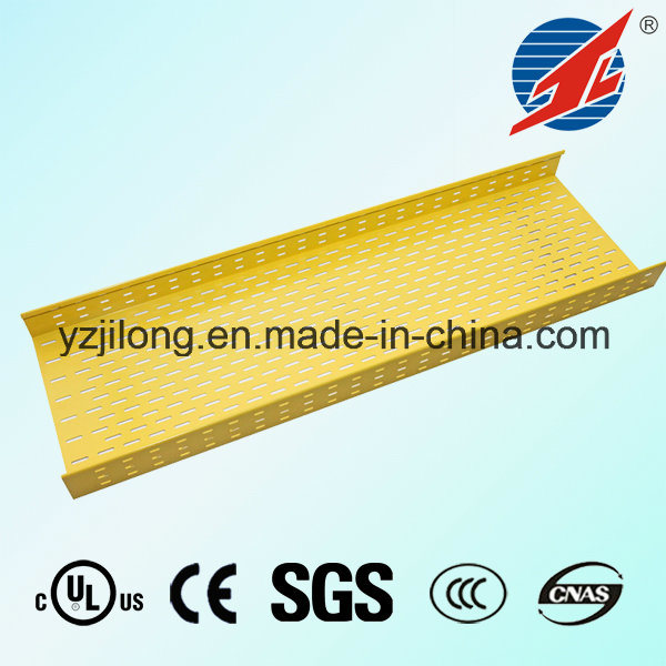 Red Fexible Perforate Cable Tray