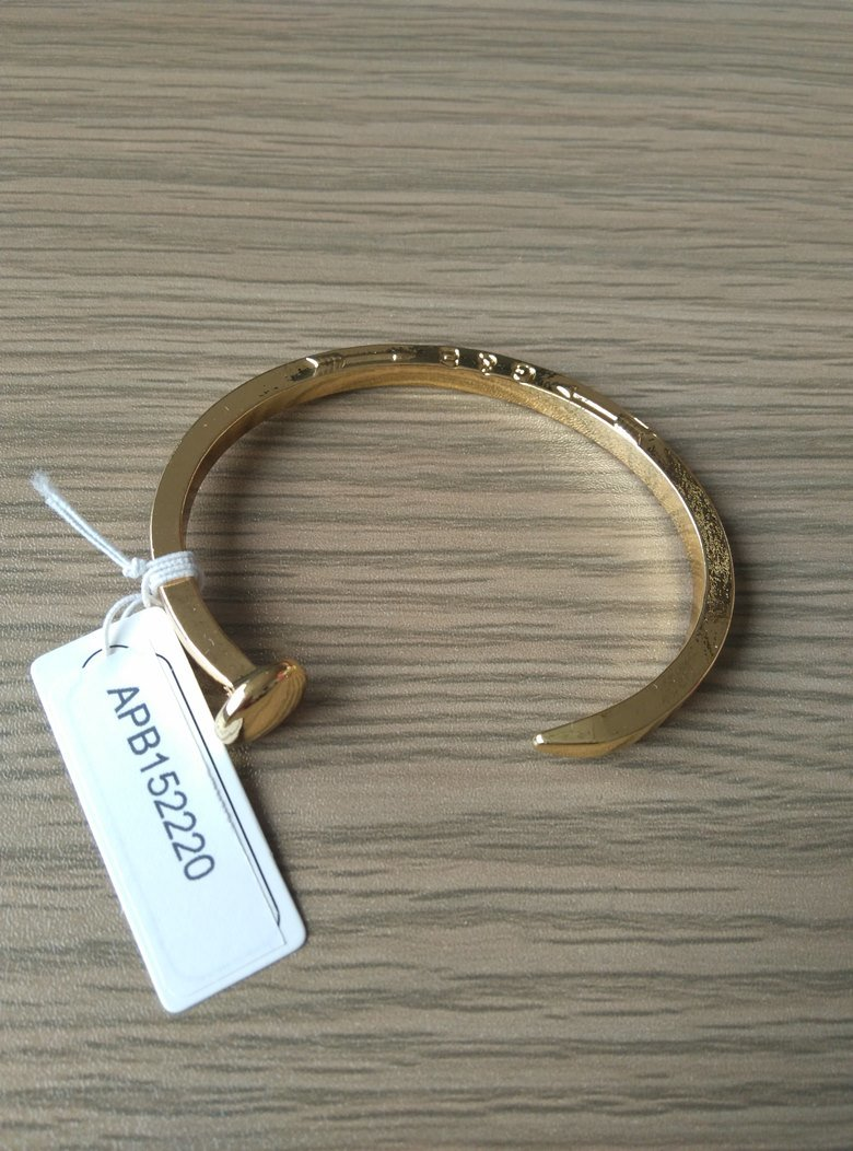 Simple Open Metal Gold Plated Bracelet Fashion Jewelry