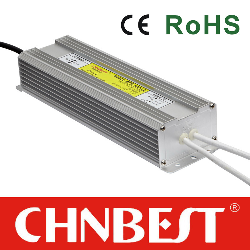 100W 12VDC Outdoor Waterproof IP67 LED Power Supply with CE and RoHS (BFS-100-12)
