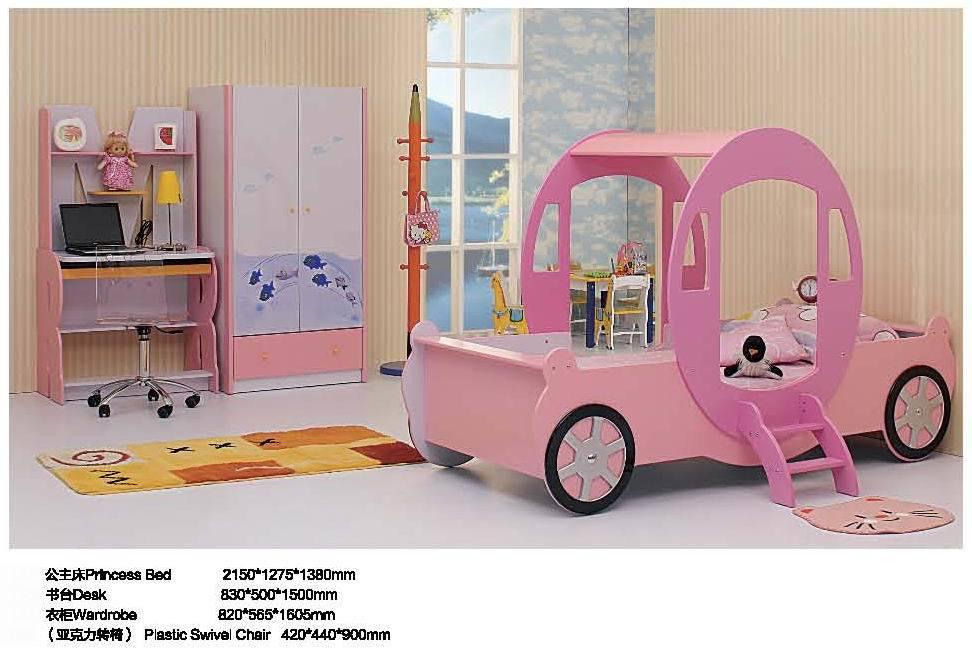 Kids Bedroom Set (MY3-1380#) - China Kids Bed, Kids Bedroom