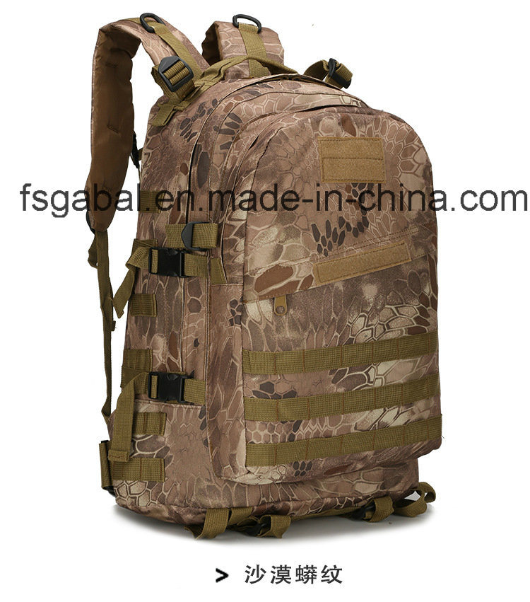 600d Oxford Camo Military Tactical Web Gear Sports Bag Backpack