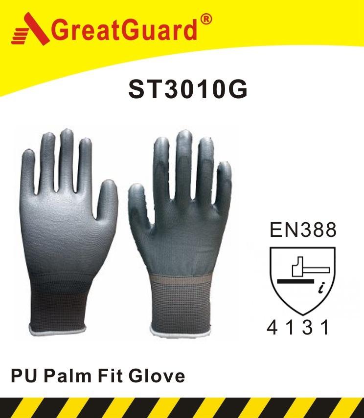 Premium Quality Black PU Glove (CE Certificated)