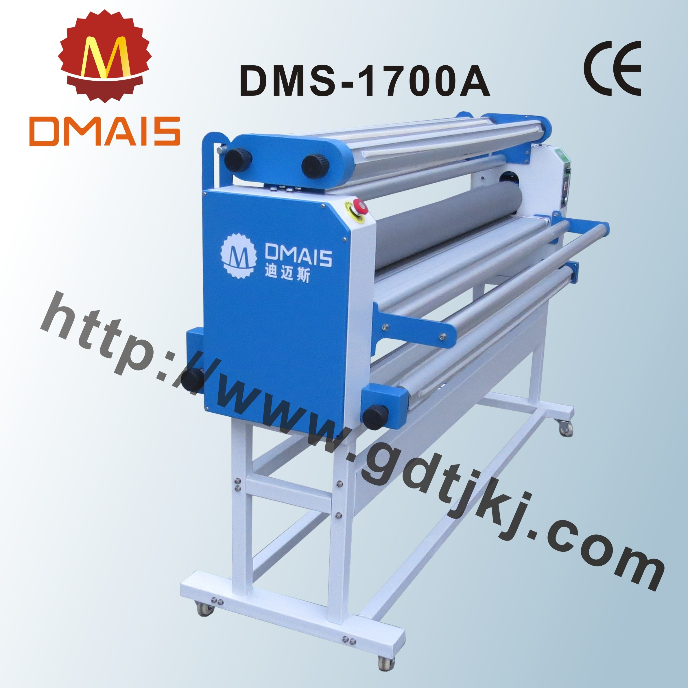 "DMS 63"" Wide Format Automatic Linerless Film Laminator for Advertisement"