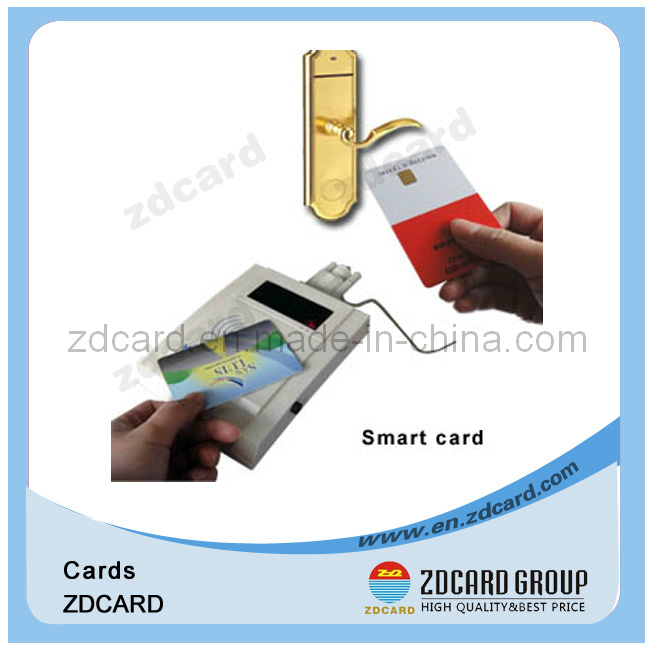 UV Spot RFID Blank Business Plastic Smart Card Printed