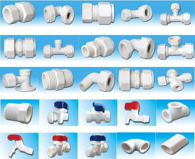 Aluminum tubing plastic connectors for