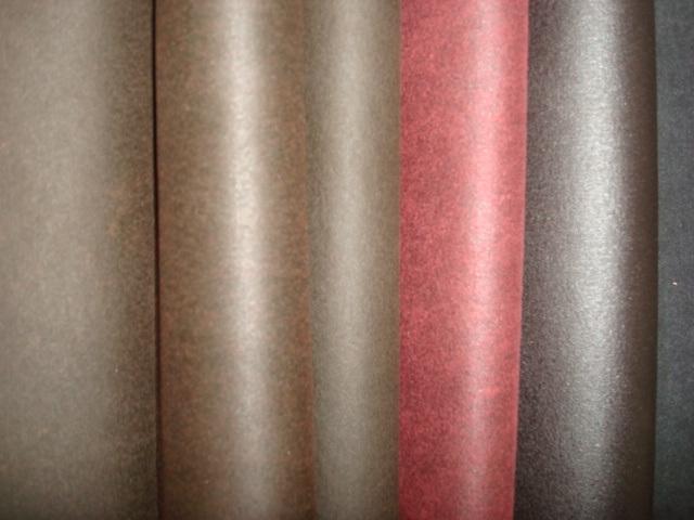 Elasic Golden Ironing Cotton Polyester Suede-Imitation Interweave Vintage PU Coating
