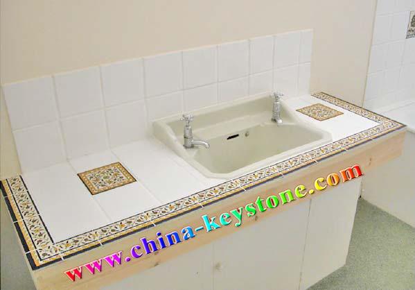 Vanity Top Full Granite Countertop Bathroom Countertops China Prefabricated Countertop