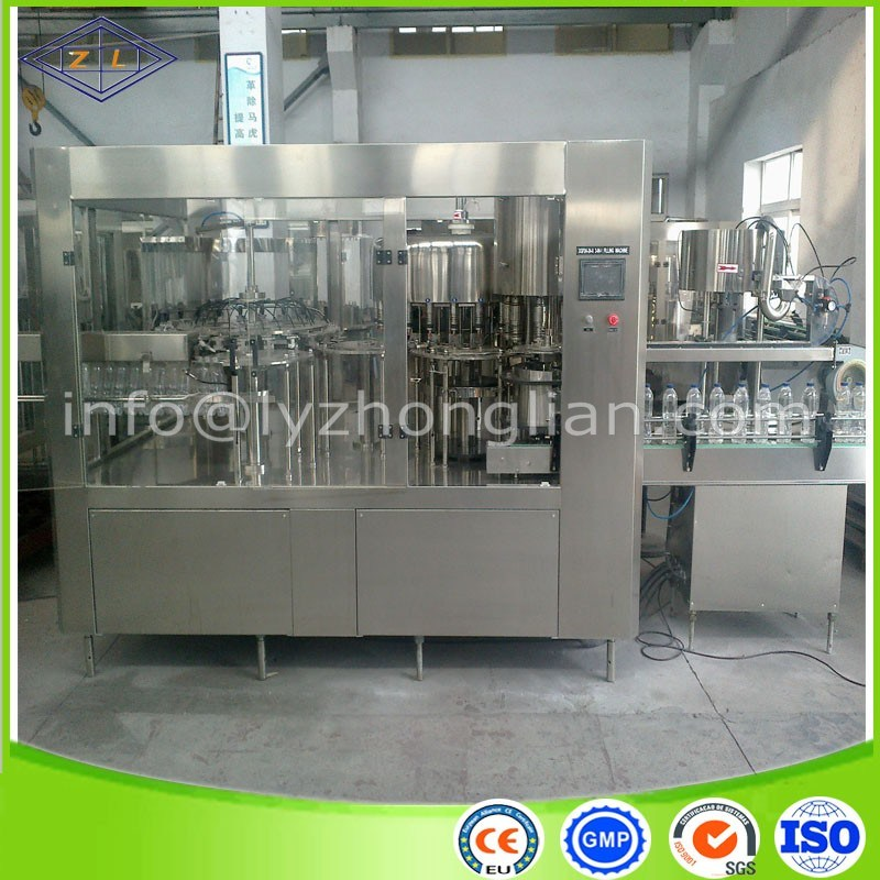 High Speed Automatic Bottle Water Filling Machine
