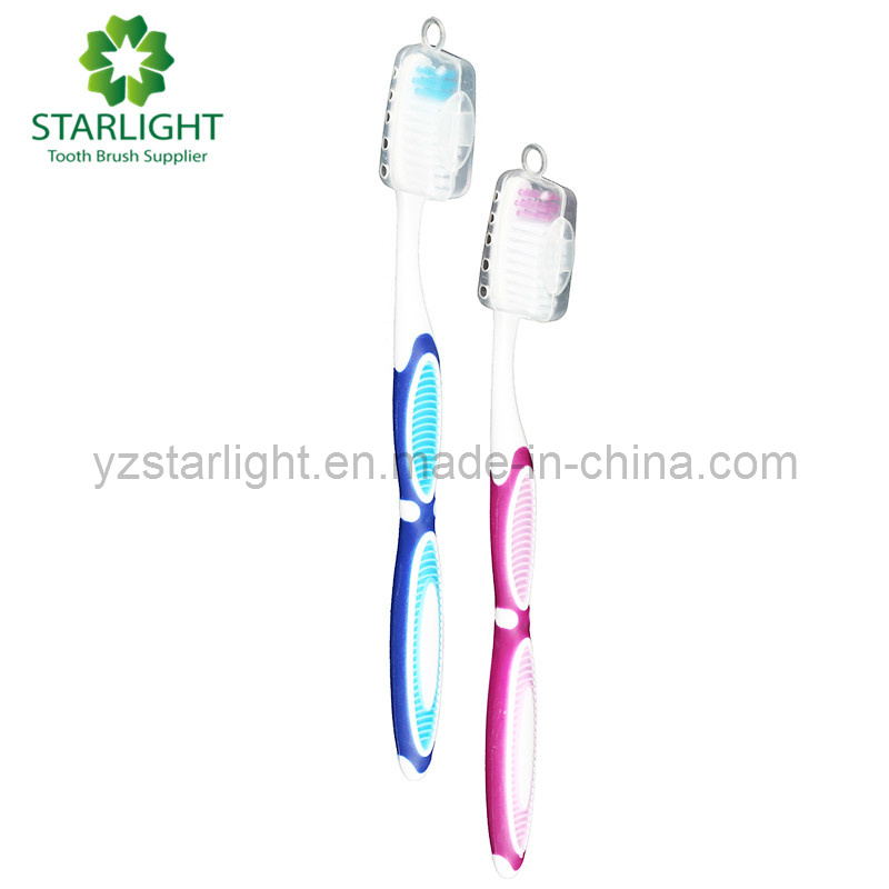 High Quality Adult Toothbrush with Cap (859)