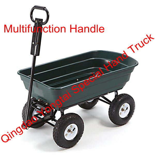 Multifunction Handle Garden Dump Cart for Sale