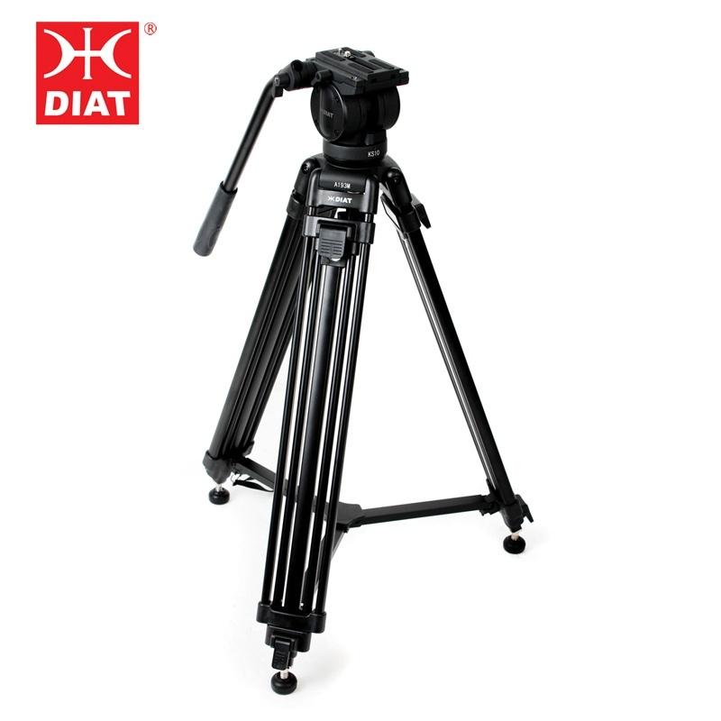 China Professional Aluminum Video Camera Tripod for Video Camera & DV ...