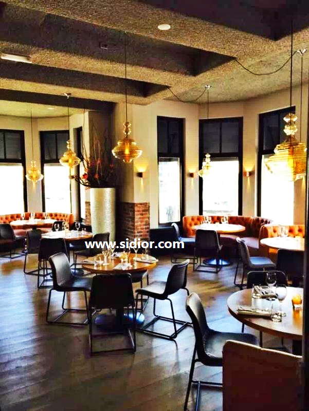 Wholesale Wooden Cafe Restaurant Furniture for Table and Chair Set