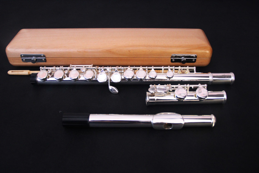 Pure 925 Silver Head Joint High Grade Flute (FL-360S)
