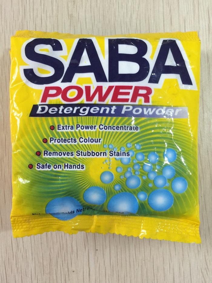 Saba (30G) for Laudry Washing Powder, Detergent Powder, Clothes Washing Powder, Bulk Detergent Powder, China Detergent Manufacture