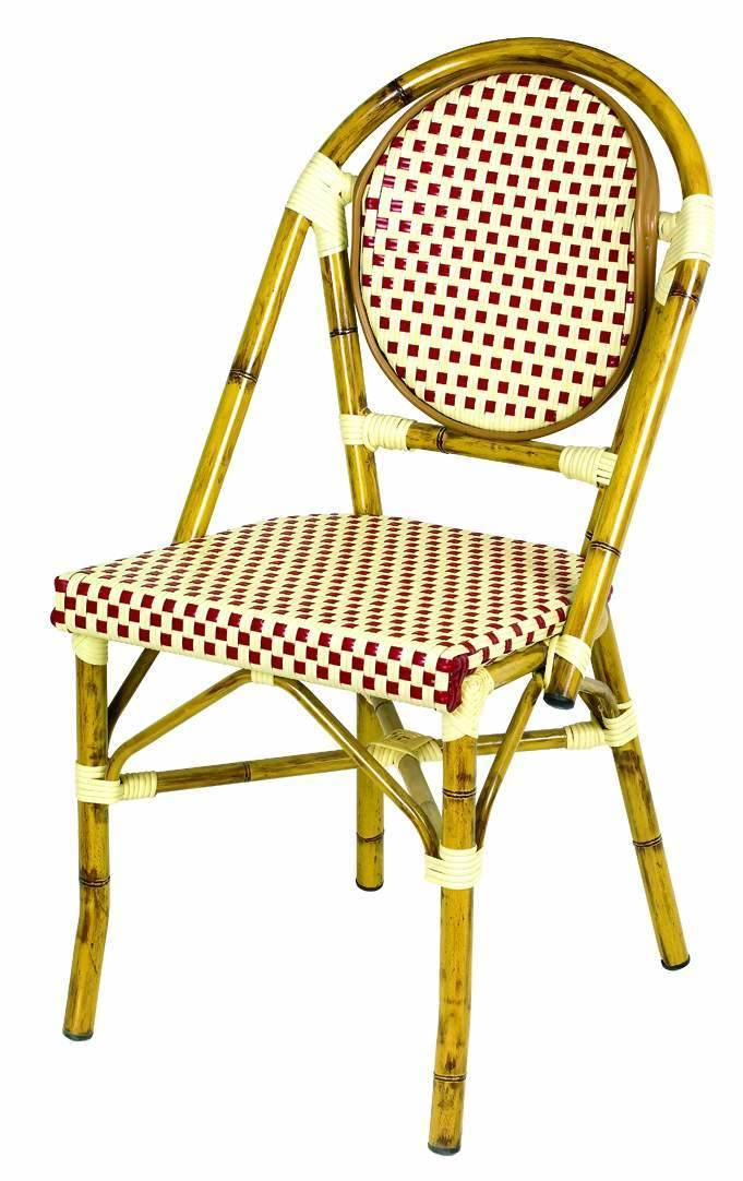China Rattan French Bistro Chair For Cafe Shop Restaurant Jl 137 China F