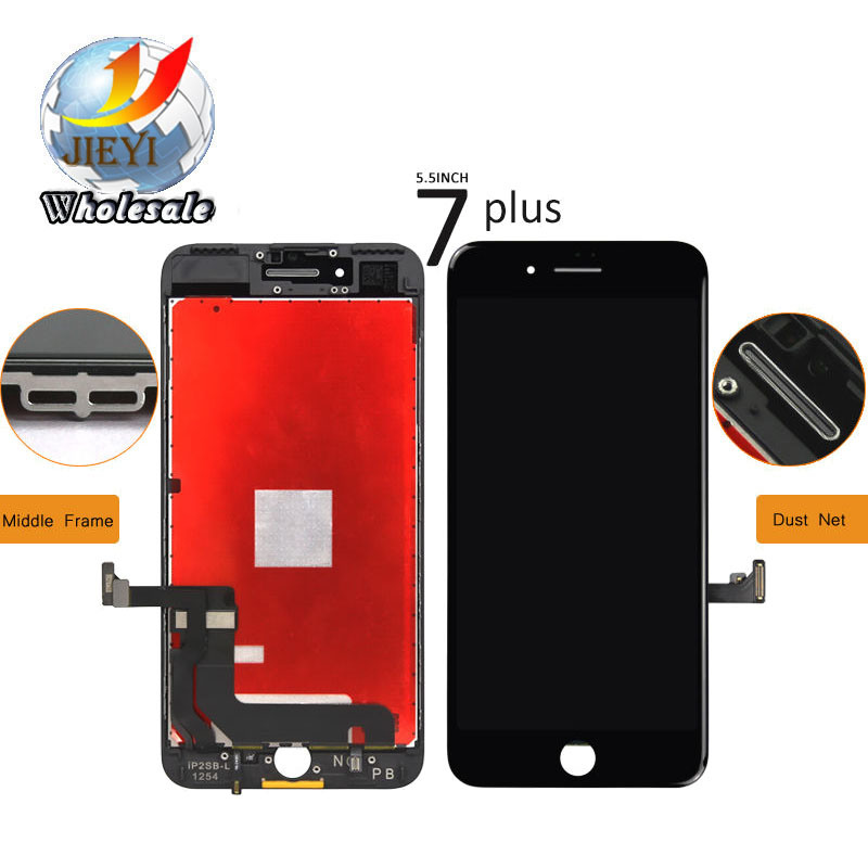 for Apple iPhone 7 LCD Screen and Digitizer Assembly with Frame Replacement - White