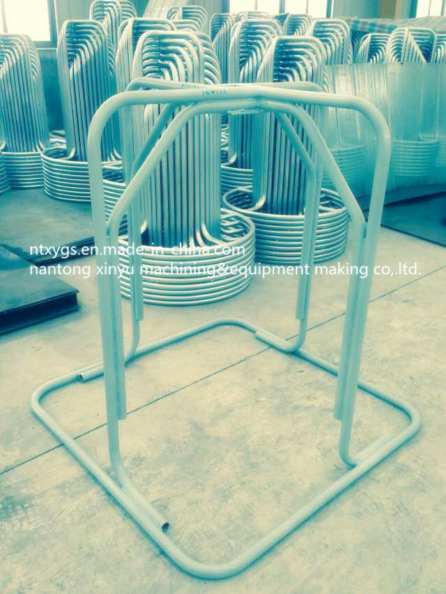 Factory Outlet Silvery Square Base Steel Wire Carrier