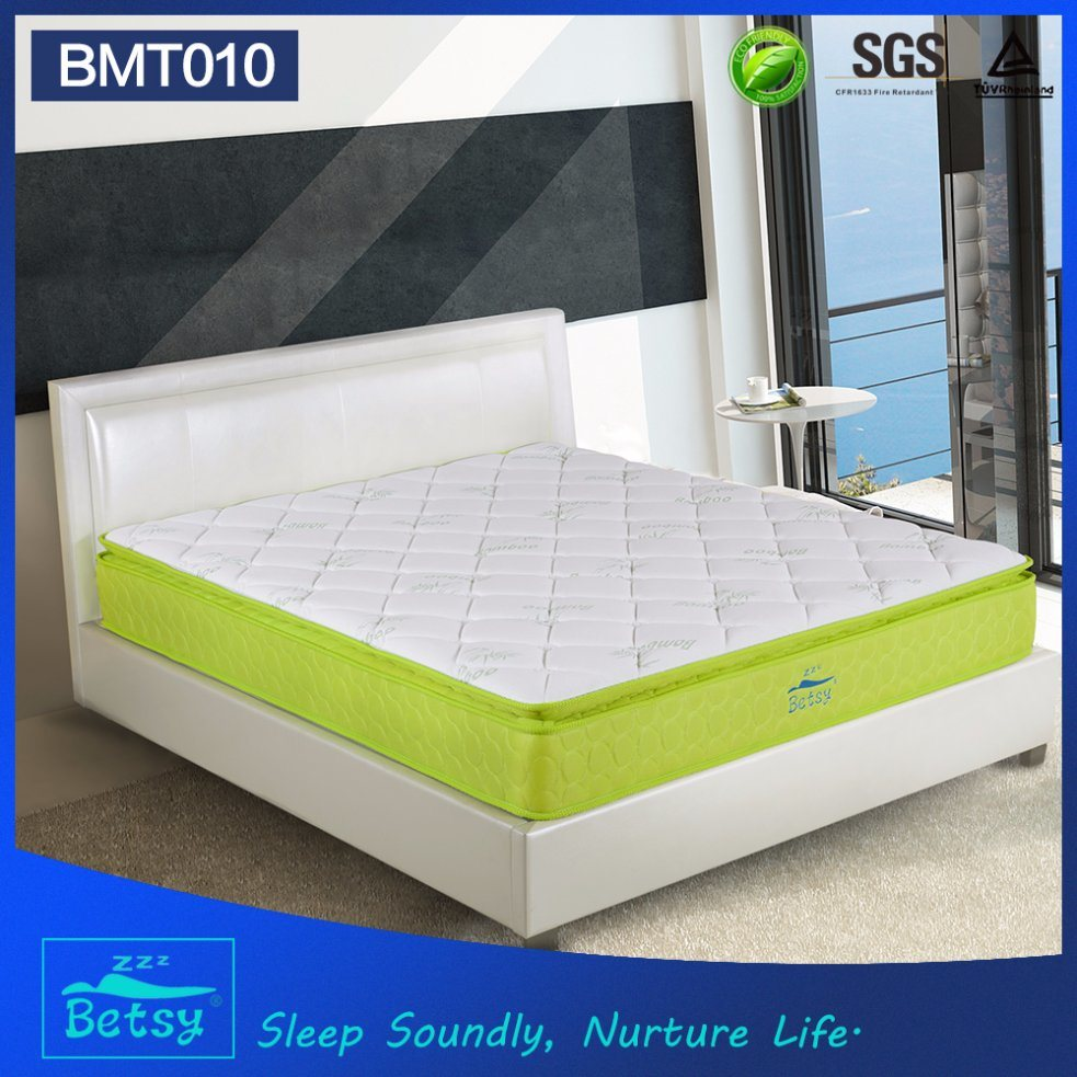 OEM Compressed Hotel Mattress 28cm with Relaxing Pocket Spring and Resilient Foam Layer