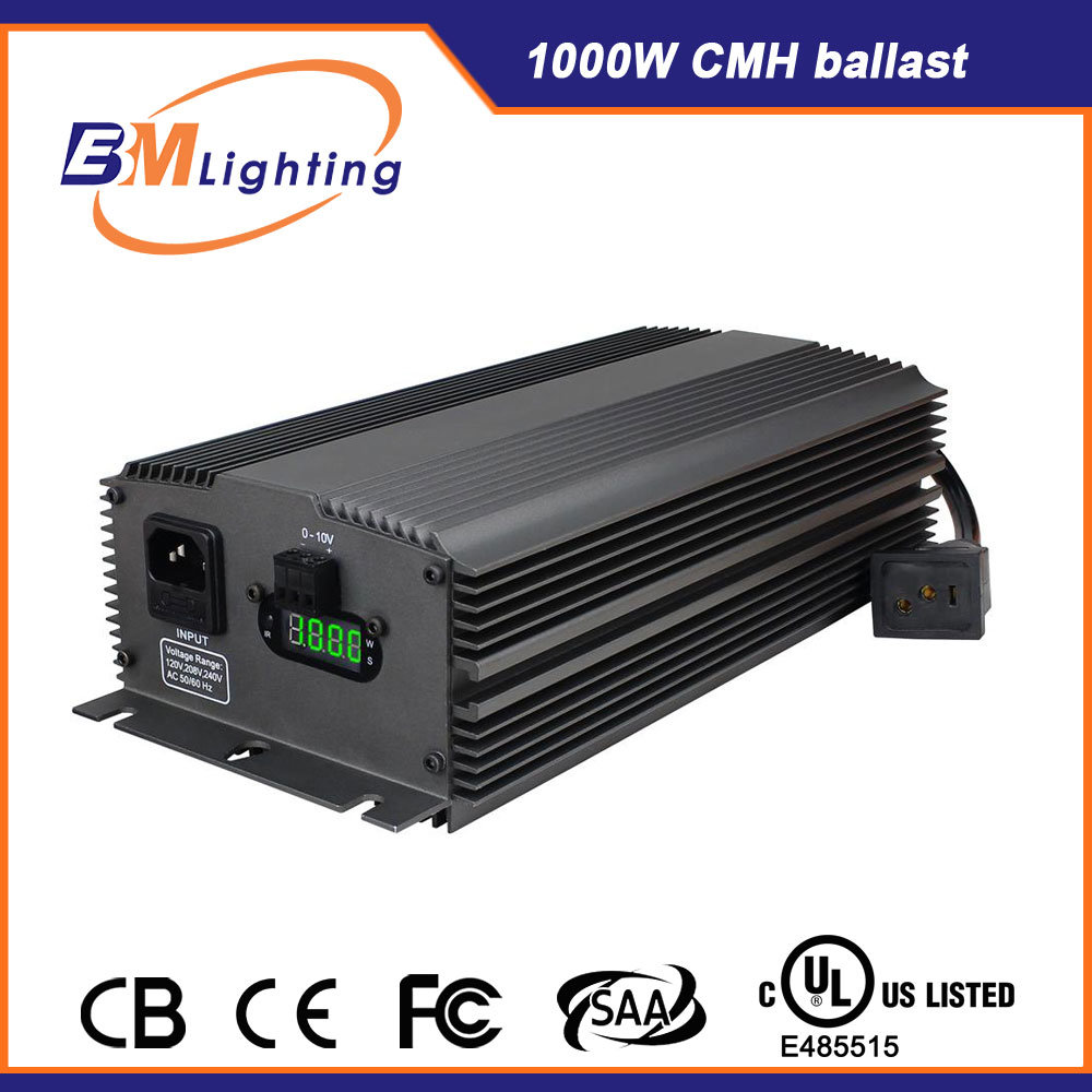 Hydroponics HPS/Mh 600W 1000W Digital Dimmable Grow Lighting Electronic Ballast