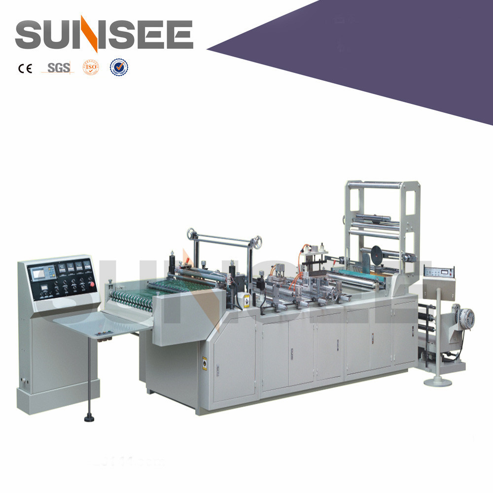 Full Automatic Zipper Bag Cutting & Sealing Machine
