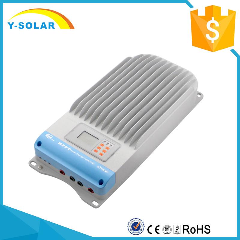Epever 12V/24V/36 V/48V Negative-Grounded MPPT 60A Solar Controller Etracer6415bnd