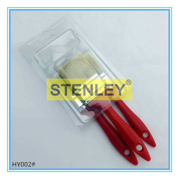 Plastic Handle Paint Brush Set Brush